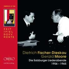 Dietrich Fischer-Dieskau - Salzburger Liederabende, 11 CDs