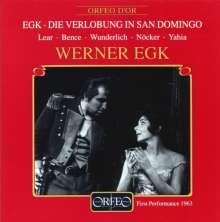 Werner Egk (1901-1983): Die Verlobung in San Domingo, 2 CDs