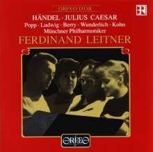 Georg Friedrich Händel (1685-1759): Giulio Cesare in Egitto (in dt.Spr.), 3 CDs