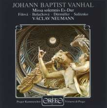 Johann Baptist (Jan Krtitel) Vanhal (1739-1813): Missa solemnis in Es, CD