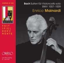 Johann Sebastian Bach (1685-1750): Cellosuiten BWV 1007-1009, CD