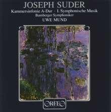 Joseph Suder (1892-1980): Kammersinfonie A-Dur, CD