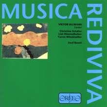 Viktor Ullmann (1898-1944): Lieder, 2 CDs