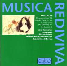 Pavel Haas (1899-1944): Bläserquintett op.10, CD