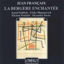 "Jean Francaix (1912-1997): Kammermusik für Flöte ""La Bergère Enchantée"", CD"