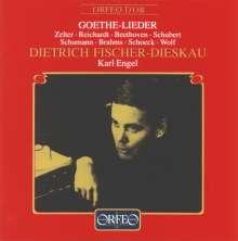 Dietrich Fischer-Dieskau singt Goethe-Lieder, CD