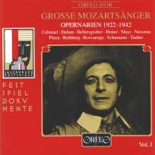 Große Mozartsänger Vol.1, CD