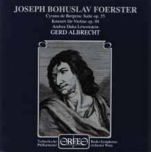 Josef Bohuslav Foerster (1859-1951): Violinkonzert op.88, CD