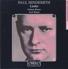 Paul Hindemith (1895-1963): 34 Klavierlieder, CD