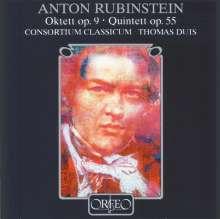 Anton Rubinstein (1829-1894): Oktett op.9 für Flöte,Klarinette,Horn,Streicher,Klavier, CD