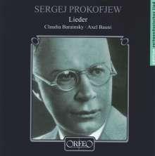 Serge Prokofieff (1891-1953): Lieder opp.18,23,27,35,36,73, CD