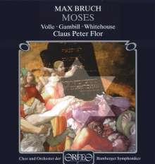 Max Bruch (1838-1920): Moses op.67 (Oratorium), 2 CDs