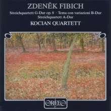 Zdenek Fibich (1850-1900): Streichquartette Nr.1 & 2 in A & G, CD
