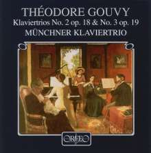 Louis Theodore Gouvy (1819-1898): Klaviertrios Nr.2 & 3, CD