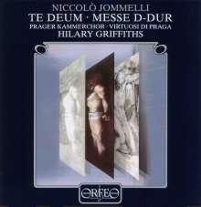 Niccolo Jommelli (1714-1774): Messe in D, CD
