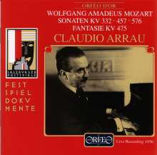 Wolfgang Amadeus Mozart (1756-1791): Klaviersonaten Nr.12,14,18, CD