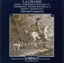 """Antonio Rosetti (1750-1792): Symphonie in D """"La Chasse"""", CD"""