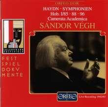 Joseph Haydn (1732-1809): Symphonien Nr.85,88,96, CD