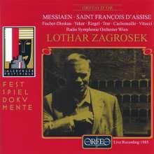 Olivier Messiaen (1908-1992): Saint-Francois d'Assise (Ausz.), 2 CDs