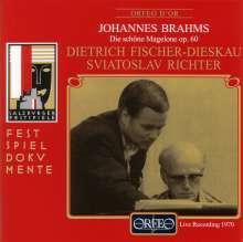 Johannes Brahms (1833-1897): Die Schöne Magelone op.33, CD