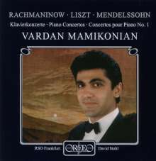 Vardan Mamikonian spielt Klavierkonzerte, CD