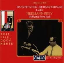 Hermann Prey singt Lieder, CD