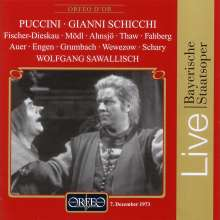 Giacomo Puccini (1858-1924): Gianni Schicchi (in dt.Spr.), CD