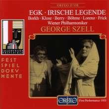 Werner Egk (1901-1983): Irische Legende, 2 CDs