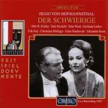 Hoffmannsthal,Hugo von:Der Schwierige, 2 CDs