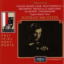 Nathan Milstein - Salzburger Festspiele 1956, CD