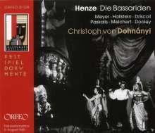 Hans Werner Henze (1926-2012): Die Bassariden, 2 CDs