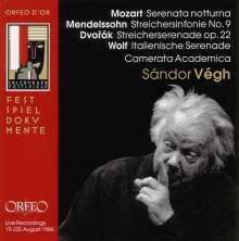 Camerata Academica Salzburg - Salzburger Festspiele 1986, CD