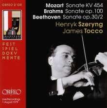 Henryk Szeryng - Salzburger Festspiele, CD
