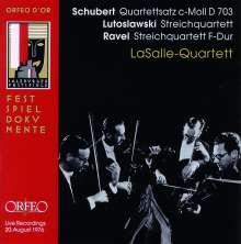 LaSalle Quartett - Salzburger Festspiele, CD