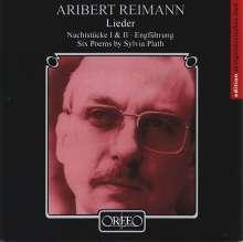 Aribert Reimann (geb. 1936): Lieder, CD