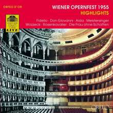 Wiener Opernfest 1955 (Highlights), 3 CDs