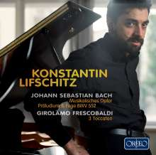 Konstantin Lifschitz,Klavier, CD