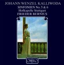 Johann Baptist Wenzel Kalliwoda (1801-1866): Symphonien Nr.5 & 6, CD