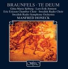 Walter Braunfels (1882-1954): Te Deum op.32, CD