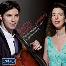 Johann Sebastian Bach (1685-1750): Cellosonaten BWV 1027-1029 (nach den Gambensonaten), CD