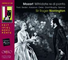 Wolfgang Amadeus Mozart (1756-1791): Mitridate Re di Ponto, 2 CDs