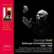 George Szell - Salzburger Orchesterkonzerte 1958-1968, 7 CDs