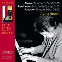 Clara Haskil spielt Klaviersonaten, CD