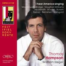 Thomas Hampson - I Hear America Singing, 2 CDs