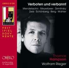 Thomas Hampson - Verboten und verbannt (Verfolgte Komponisten - verfolgte Musik), CD
