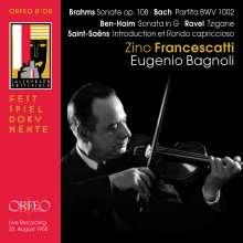 Zino Francescatti,Violine, CD
