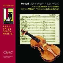 Wolfgang Amadeus Mozart (1756-1791): Violinkonzert Nr.5, 2 CDs