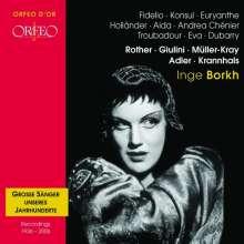 Inge Borkh singt Arien & Lieder, CD