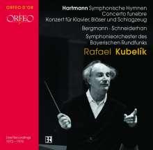 Karl Amadeus Hartmann (1905-1963): Symphonische Hymnen für großes Orchester, CD