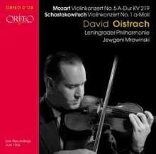 David Oistrach spielt Violinkonzerte, CD
